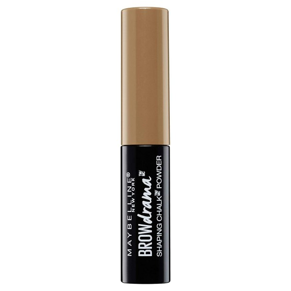 100 Blonde - Poudre à Sourcils Shaping Chalk Brow Drama de Maybelline New York Maybelline 2,99€